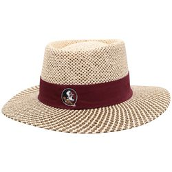 Florida State Seminoles Straw Boater Hat
