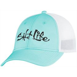 Salt Life Mens Fish Dive and Surf Stretch Fit Hat