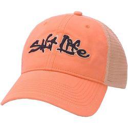 Salt Life Mens Stance Script Trucker Hat