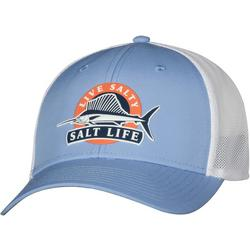 Mens Big Game Marlin Mesh Trucker Hat