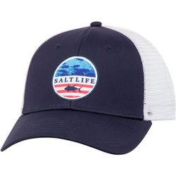 Salt Life Mens Respect Trucker Mesh Hat