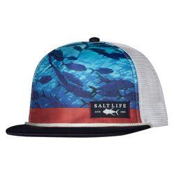 Salt Life Mens Respect Photo Realistic Mesh Trucker Hat
