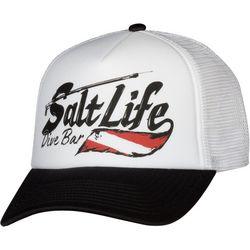 Salt Life Mens Dive Bar Mesh Trucker Hat