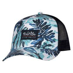 Salt Life Mens Leafy Mesh Trucker Hat