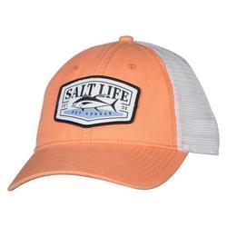 Mens Hooked Tuna Mesh Trucker Hat