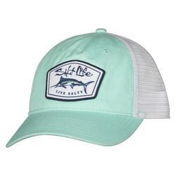 Mens Boat Life Mesh Trucker Hat