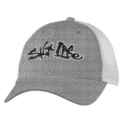 Salt Life Mens Stance Heathered Mesh Trucker Hat