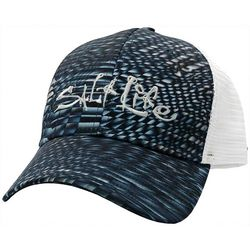 Salt Life Mens Metal Scales Mesh Trucker Hat