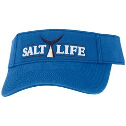 Salt Life Mens Logo Tuna Tail Visor