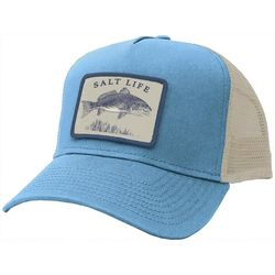 Salt Life Mens Reelin' Reds Mesh Trucker Hat