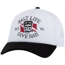 Salt Life Mens Salty Brew Mesh Trucker Hat
