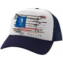 Salt Life Mens Quiver Mesh Trucker Hat