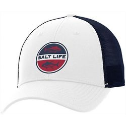 Salt Life Mens Tuna Life Mesh Trucker Hat