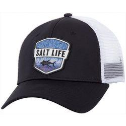 Salt Life Mens Water Skins Badge Hat