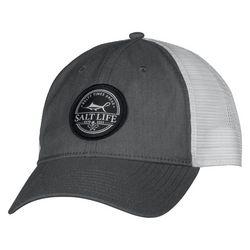 Salt Life Mens Forecast Trucker Logo Hat