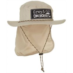 Grey & Disorderly Mens Solid Microfiber Boonie Hat