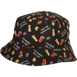 Grey & Disorderly Mens Drinks Reversible Bucket Hat