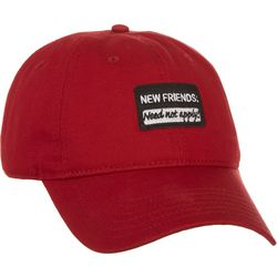 Grey & Disorderly Mens New Friends Patch Baseball Hat