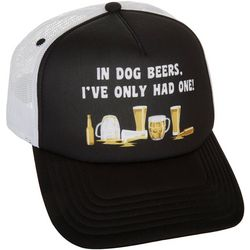 Grey & Disorderly Mens Beers Mesh Trucker Hat