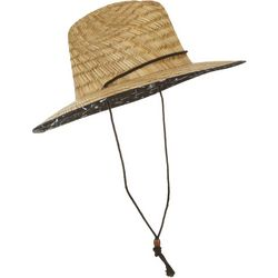 Grey & Disorderly Mens Fishing Straw Hat