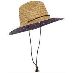 Grey & Disorderly Mens I'm A Reel Expert Straw Hat