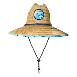 Mens Permit Fish Straw Hat