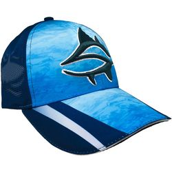 Loco Skaillz Mens Shark Embroidered Logo Vented Hat