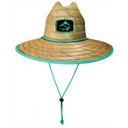 Loco Skailz Mens Sailfish Print Lifeguard Straw Hat