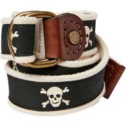 Mens Skull Belt