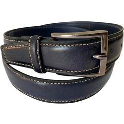 Duchamp Mens Italian Leather Belt