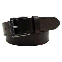 Mens 38mm Leather Buckle Belt