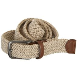 Perry Ellis Mens Braided Stretch Belt