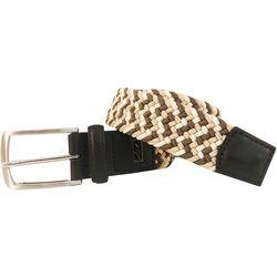 Mens Braided Stretch Belt