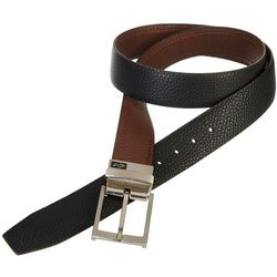Greg Norman Collection Mens Reversible Leather Belt
