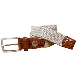 Pebble Beach Mens Braided Stretch Belt