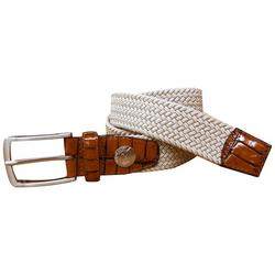 Mens Braided Stretch Belt