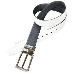 Pebble Beach Mens Reversible Leather Belt