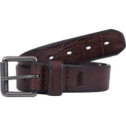 Mens 38mm Oblong Perforated Belt