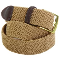 Dockers Mens Braided Stretch Belt