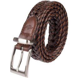 Dockers Mens Braided Leather Belt