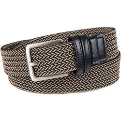 Mens 35mm Braided Leather Belt