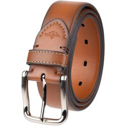 Mens Leather Stretch Belt