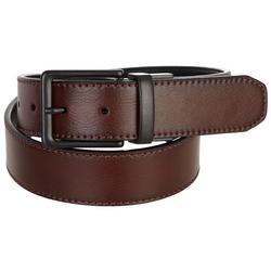 Mens 38mm Reversible Belt Black/Brown