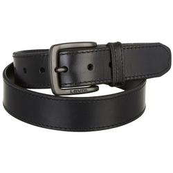 Mens 38mm Metal Stitch Trim Belt