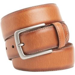 Mens 38mm Metal Buckle Leather Belt