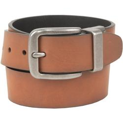 Mens 38mm Metal Buckle Reversible Belt