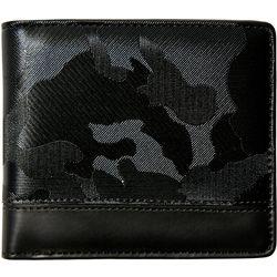 Steve Madden Mens Camo Bi-Fold Wallet