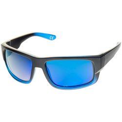 Reel Legends Mens Square Polarized Wrap Sunglasses