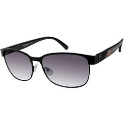 US Polo Assn. Mens Logo Rectangle Sunglasses