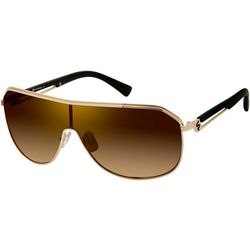 Southpole Mens Metal Shield Sunglasses